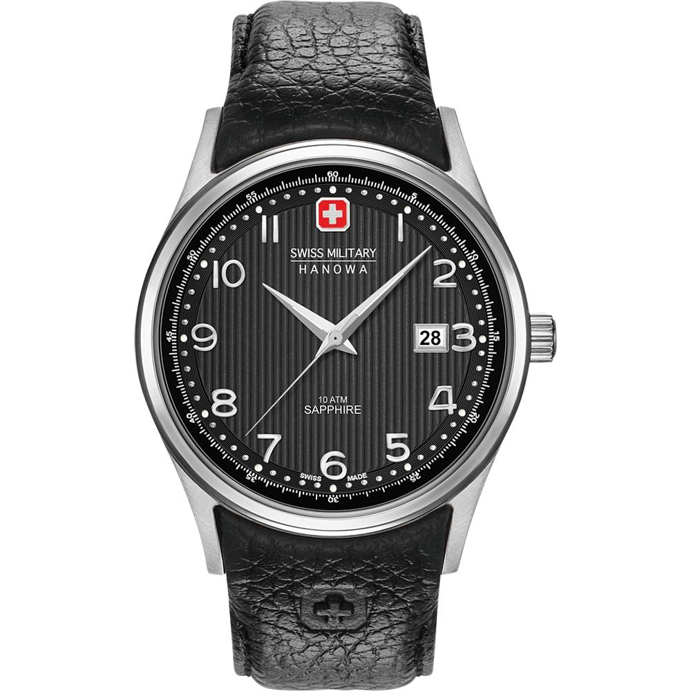 Swiss military hanowa gold watch
